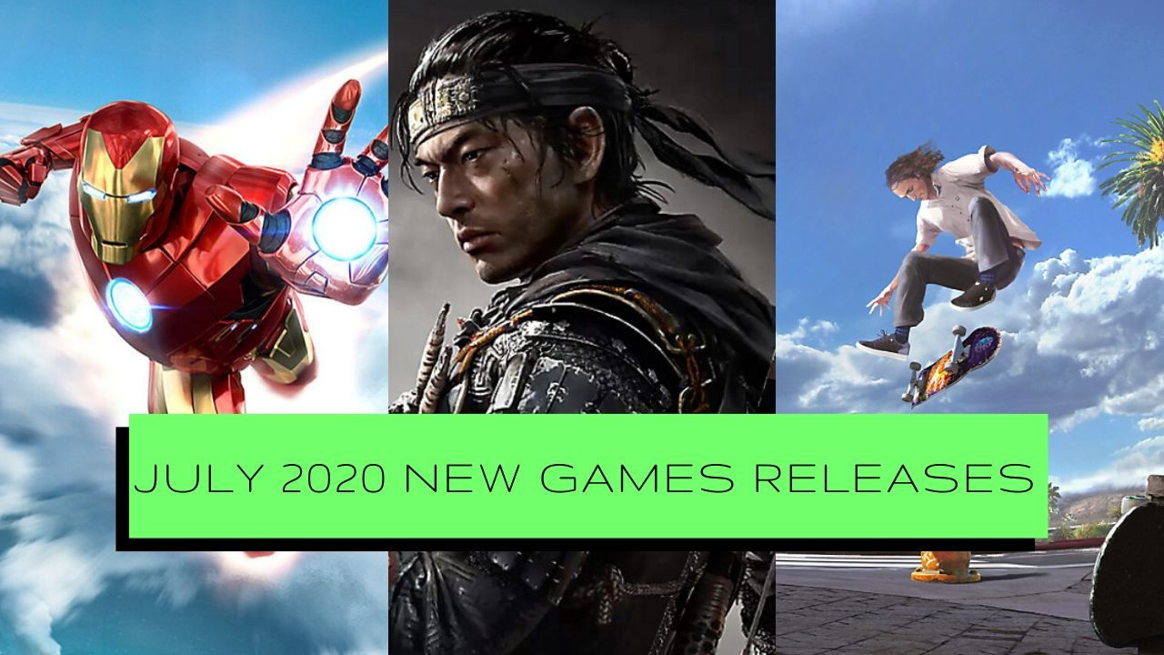 July 2020 New Games Releases