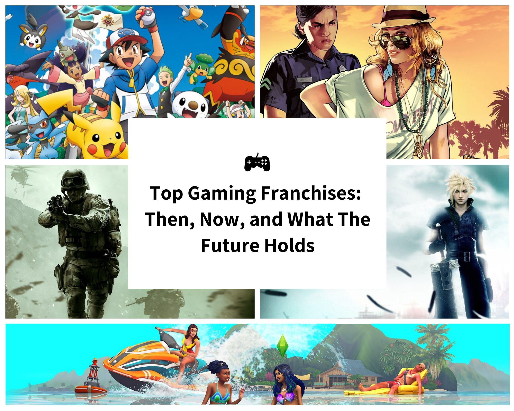 The Top Gaming Franchises of All-Time