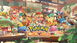 Pokémon Café Mix Cover Art