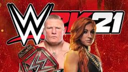 WWE 2K21 Cover Art