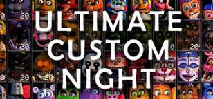 Ultimate Custom Night Cover Art